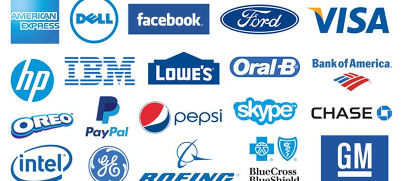 Brand logo simple